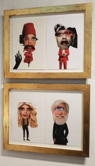 Cathy Immordino. LA Art Show, LA Convention Center; Photo credit Kristine Schomaker