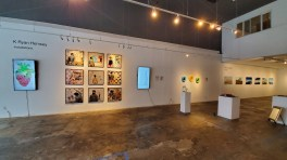 K. Ryan Henisey. TAG Gallery; Photo credit Kristine Schomaker