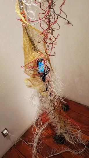 Snezana Saraswati Petrovic and Chenhung Chen, Collaborate and Create, Loft at Liz's; Photo credit Kristine Schomaker