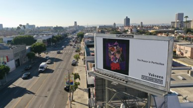 Vakseen, The Billboard Creative 2020 Show; Image courtesy of The Billboard Creative
