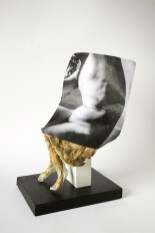 Cynthia Lahti, Brown Skirt, The Body, the Object, the Other, Craft Contemporary; Image courtesy of the gallery