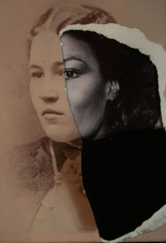 Jessica Wimbley, Cabinet Card, Woman, 2019 detail; Image courtesy of the artist