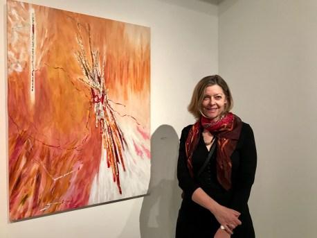 Susan Ossman. Type, GWC Art Gallery; Photo credit Genie Davis