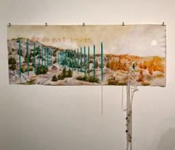 Jennifer Celio. Type, GWC Art Gallery; Photo credit Genie Davis