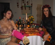 Tarrah von Lintel & Ashley Hepburn, Madame is a sore loser; Image courtesy of Tarrah von Lintel