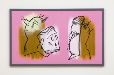 Don Suggs, Surrogates, Face-Off, L.A. Louver; Image courtesy of the gallery