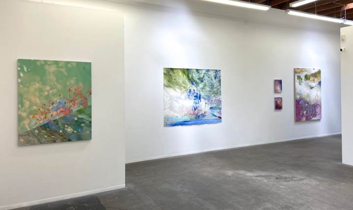 Margaret Lazzari, Vastness, George Billis Gallery, LA; Image courtesy of the gallery