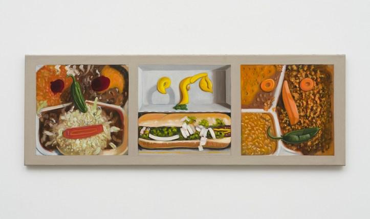 Raul Guerrero, Two Combos and a Hot Dog, The Beatitudes of Malibu, David Kordansky Gallery; Image courtesy of David Kordansky Gallery