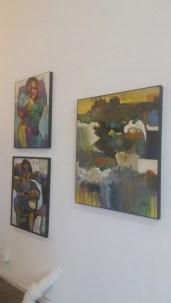 Shalla Javid Nature vs. Nurture at Red Pipe Gallery, Chinatown Los Angeles, California