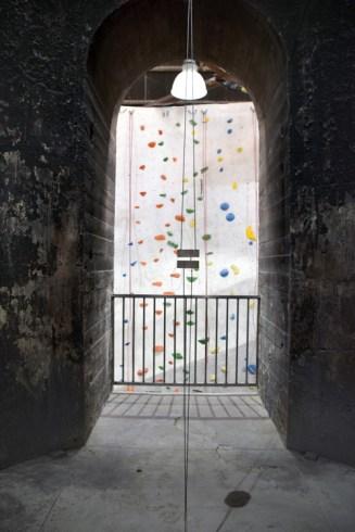 Stronghold Climbing Gym. Brewery Artwalk 2016