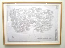 Artwork by Mark Bennett Titled 'The Marriage Tree' Photo Credit: Patrick Quinn