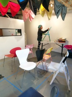 """""""Got Shui?"""" by Karrie Ross at Shoebox Projects. Photo Credit Kristine Schomaker."""
