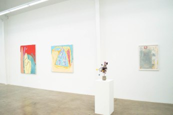 Ready to See. Installation view. Tina Linville and Dan Callis. Photo Courtesy of Jason Vass Gallery.
