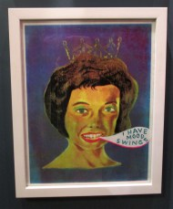 Martha Rich. I Have Mood Swings. Girl Crush at The Good Eye Gallery. Photo Courtesy of Patrick Quinn.