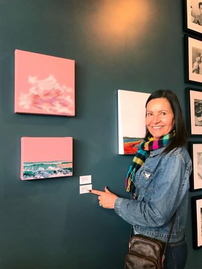 Stephanie Kelly Clark. Girl Crush at The Good Eye Gallery. Photo Courtesy of Good Eye Gallery.