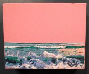 Stephanie Kelly Clark. West Coast Waves. Girl Crush at The Good Eye Gallery. Photo Courtesy of Patrick Quinn.