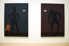 Kerry James Marshall: Mastry. Museum of Contemporary Art. Photo Credit Kristine Schomaker.