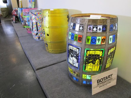 Botart International Barrel Art Exhibition - Judson Studios. Fabrik Expo. Photo Credit Patrick Quinn.