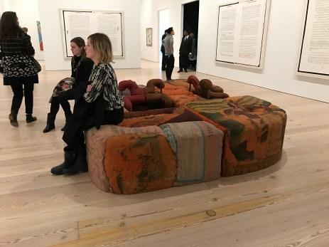 Jesse Reaves. 2017 Whitney Biennial. Whitney Museum of American Art, New York City, New York. Photo Credit Mario Vasquez.