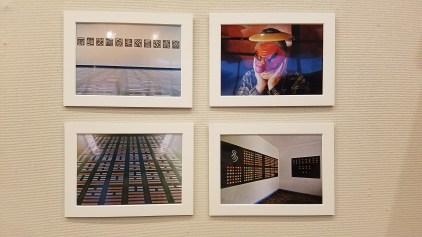 Parallels: Medicine = Art. Crafton Hills College Art: Eyes on Healing. Crafton Hills College Art Gallery. Photo Credit Jacqueline Bell Johnson.