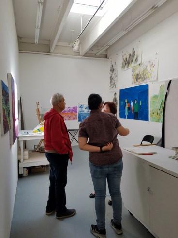 Claremont Graduate University MFA Open Studios. Photo Credit Jacqueline Bell Johnson.