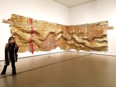 El Anatsui. The Broad. Photo Credit Kristine Schomaker