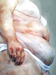 Jenny Saville. The Broad. Photo Credit Kristine Schomaker