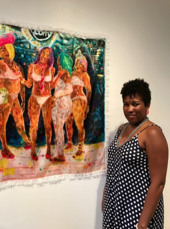Sweet Sticky Things at Launch Gallery. Photo Credit Genie Davis.