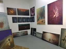 Jennifer Simms. Claremont Graduate University MFA Open Studios. Photo Credit Jacqueline Bell Johnson.