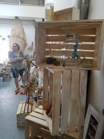 Laura Wilde. Claremont Graduate University MFA Open Studios. Photo Credit Jacqueline Bell Johnson.