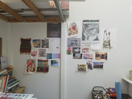 Megan Kinney. Claremont Graduate University MFA Open Studios. Photo Credit Jacqueline Bell Johnson.