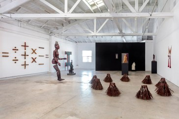 Installation View Signifying Form Curated by jill moniz the Landing, 2017 Photo: Joshua White/jwpictures.com