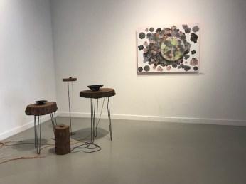 """Hiromi Takizawa. """"Crossing Boundaries"""" Huntington Beach Art Center. Photo Credit Sydney Walters."""