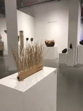 "Sandy Abrams. ""Crossing Boundaries"" Huntington Beach Art Center. Photo Credit Sydney Walters."