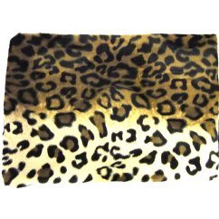 Leopard Print Sofa Appears Waterproof Pony Skin Velboa Upholstering Fabric By The Metre