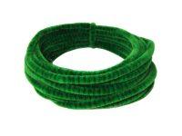 Luxury Green & Brown Striped Pipe Cleaner Coil