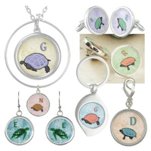 Click through to shop this collection of turtle-themed jewelry