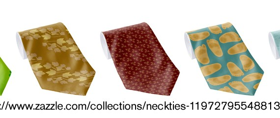 Reorganized and updated Neckties collection: Click through to shop.
