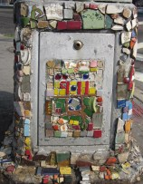Tribute to those who died in 9/11 - by The Mosaic Man, NYC