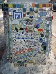 Wake Up America - by The Mosaic Man, NYC