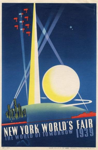 Poster for New York World's Fair, 1939