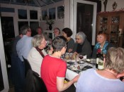 The leaving party, early June 2013