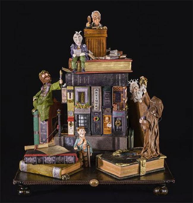 Dickens A Christmas Carol Gingerbread House