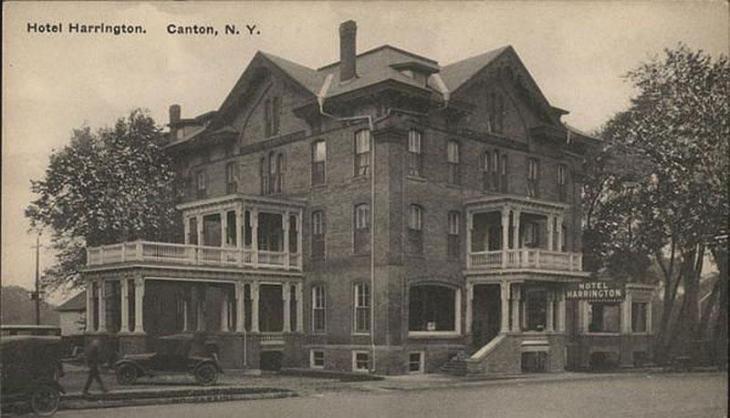 Historic Hotel Harrington in Canton, NY