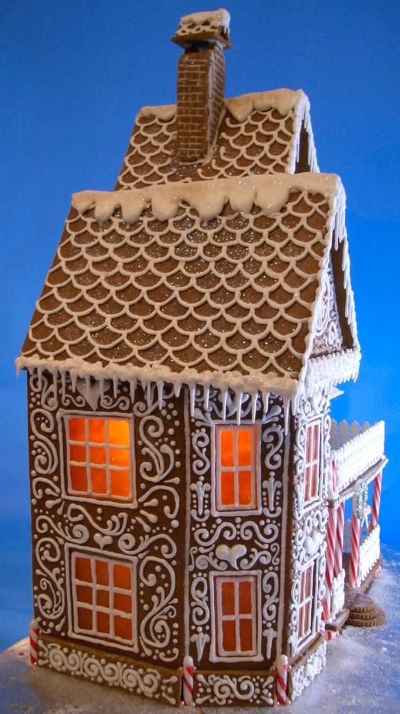 Quaint Victorian Gingerbread House