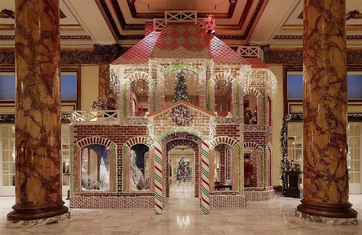 Two Story Walk-in Gingerbread House
