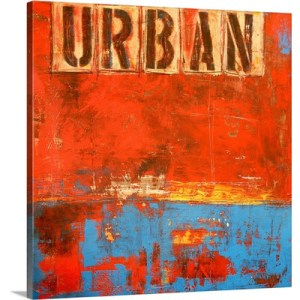 Urban by Erin Ashley Art Print on Canvas