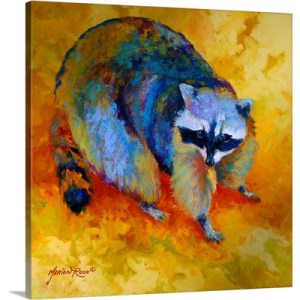 Coon by Marion Rose Painting on Canvas