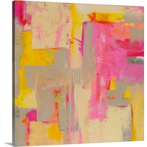 Pink Sugar by Erin Ashley Art Print on Canvas