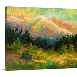 Summer High Country by Marion Rose Art Print on Canvas